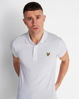 Polo Slim Fit/ SP919VE2/White/ Lyle-Scott
