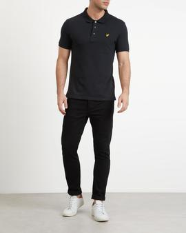 Polo Slim Fit/ SP919VE2/Black/ Lyle-Scott