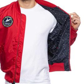 MA 1 TT NASA REVERSIBLE II/ SPEED RED/ ALPHA