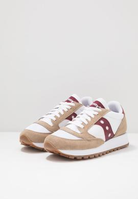 JAZZ ORIGINAL VINTAGE / TAN WINE / SAUCONY