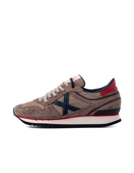 Zapatilla Nou 87/ Brown gray_Navy/ Munich