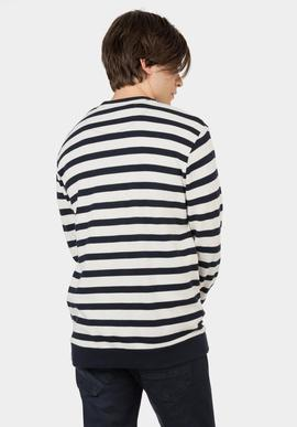 Jersey Newcastle/ Stripes/ Navy_bege/Tiffosi
