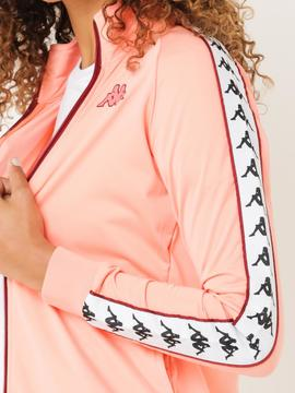 kappa jacket/peach