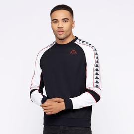 kappa arlton jumper/black