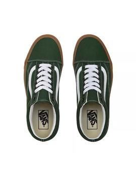 old skool/ green/ vans